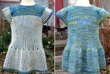 Free Dress and Skirt Knitting Patterns