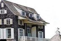 Dream Homes Exteriors / Homes that beckon a big warm welcome.