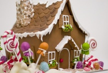 Gingerbread houses!! / by Carolyn Burton