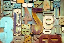 #typography / Letters + Words + Design