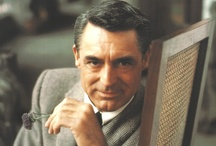 Cary Grant / Cary Grant...just his name personifys a suave, debonair and handsome gentleman. He was one of a kind who represents timeless style...a real class act. / by Jennifer Reed
