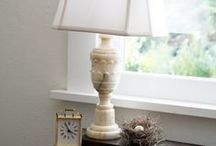 Alabaster & Marble Lamps / Weight and Origins Gypsum, in the form of alabaster, is much lighter than marble.  Alabaster is a chemical sedimentary rock, which means it was made of detritus precipitated from a body of water. Gypsum alabaster is an evaporite of salt, and was formed out of the evaporation of marine water.  Marble is a metamorphic rock, formed out of another sort of rock due to the extreme heat and pressure in the earth's crust.