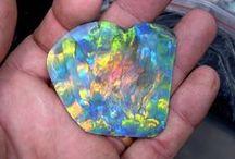 Black Opal best stone ever / Opals Lightning ridge Australia