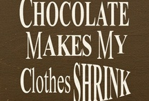 Chocolate and other yummy desserts / chocolate is something I am proud to say I'm addicted to