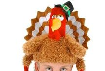 Thanksgiving Costume & Party Supply Ideas / Let the Turkey feast BEGIN with Thanksgiving Costumes for Adults and Kids and Decorate your home with Thanksgiving Decorations and Party Supplies. Happy Thanksgiving!