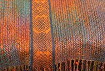 Loom knit, crochet, and weaving