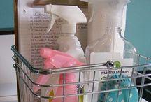 CLEANING && ORGANIZATION / by Tiffany Hogan