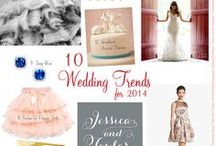 WEDDING TRENDS 2016 / Wedding trends for 2016 including decor, color palettes, and more. #weddingtrends