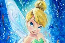 "Disney - Faith, Trust & Pixie Dust / This one is all about the sassy pixie of Disney and ""Peter Pan"" fame.   If you are a Disney Junkie like me, please check out my Disney blog: http://grown-up-disney-kid.tumblr.com/"