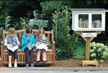 Little Free Libraries / I love the Little Free Library movement!  I love seeing new ones pop up in in my community.  We can't all agree on much but we seem to be able to agree that books are awesome and should be accessible to all!  Please do not repin 40 pins at once from this board or I will sadly block you. / by Alexa Hackett