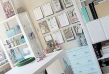 Dream Craft Rooms / Craft room ideas, tips, and organizing.