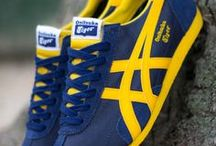 Onitsuka Tiger Trainers / A board dedicated to my favourite training shoe Onitsuka Tiger ... incredibly stylish, modern with a hint of retro as well... sneakers - fashion - style - men's style - woman's style