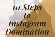 Instagram Domination / All you need to know about Instagram Marketing - including growing your following, finding hashtags, building a community and selling more products and services. Email info@angelajford.com to request to join this Group Board.