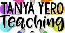 Tanya Yero Teaching / This board is dedicated to all things Tanya Villacis on Teachers Pay Teachers. You'll find science, math, reading, and more! Here's a direct link to my store   www.teacherspayteachers.com/Store/Tanya-Villacis If you teach Kindergarten, 1st, 2nd, 3rd, 4th, 5th, or 6th grade, you'll find something worthwhile. Stick around to see all the great resources and FREE downloads.