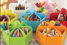 art supply organization / art supply organization, art supplies, organization, craft storage, art storage, art studio organization, art studio, craft supply storage, craft supply organization, studio organization