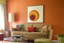 Room for Family / I'm redecorating our family room and boosting my color confidence. Ideas welcome! / by Veronica Sopher