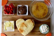 Date Night Food / Recipes and serving ideas for romantic dates at home. / by Tom and Debi Walter