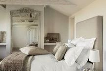 HOME - Bedroom Ideas / Gorgeous bedroom ideas for the master bedroom and guest bedrooms.
