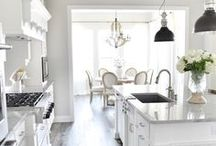 HOME - Kitchen & Dining Room / Fabulous Kitchen and dining room ideas. Great kitchen decor ideas plus useful kitchen ideas. Pretty dining room and eat in kitchen ideas.