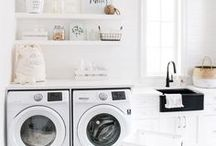 HOME - Laundry & Mud Room / Gorgeous and functional laundry rooms ideas and mudroom ideas.