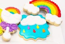 Cookie Ideas I LOVE / Amazing cookies - pretty cookies - party cookies - yummy cookies - cookie ideas - cookie party - diy cookies - royal icing cookies -  / by Lillian Hope Designs