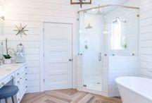 HOME - Bathroom / Bathroom ideas for master bath, guest bath, and powder bathroom.