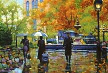 rain / by Annetta Gregory