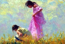 paintings of children / by Annetta Gregory