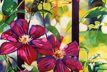 floral paintings / by Annetta Gregory
