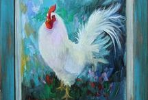 Roosters / by Annetta Gregory Art