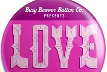 Pinback Project LOVE - Valentine Design PIN-spiration