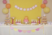 You Are My Sunshine Party Ideas / by Kara Abrahamsen Lillian Hope Designs
