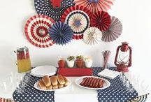 HOLIDAY - Fourth of July / Fourth of July Ideas - July 4th Parties - July 4th Ideas - Fourth of July fashion - Fourth of July Home Decor - July 4th Decor