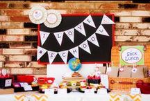 Back To School Party Ideas / by Kara Abrahamsen Lillian Hope Designs