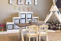 HOME - Bonus & Playroom Ideas / Fun and functional bonus room and play room ideas.