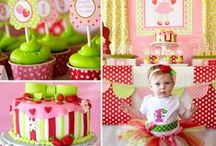 Strawberry Shortcake Party Ideas / by Lillian Hope Designs