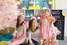 Sweet Shoppe Party Ideas / by Kara Abrahamsen Lillian Hope Designs