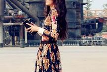 Fashion fashion fashion. And style / Fashion and style. Dresses, skirts, pants, casual and chic, artsy and boho.  / by Amelieke Van de Lavoir