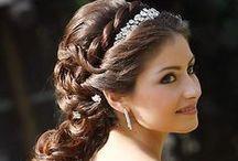 Wedding Hair Ideas / hair!