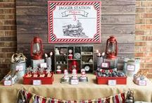 Train Party Ideas / by Lillian Hope Designs