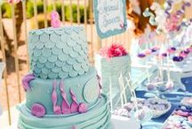 Mermaid Birthday Party / Mermaid Party Ideas - Little Mermaid - Swim Party  / by Lillian Hope Designs