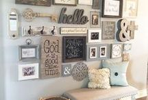 HOME - Gallery Wall Ideas / Gallery wall ideas for your home decor.