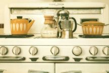 In the kitsch-en / Cute kitchens & kitschy gadgets.  / by Oh So Lovely Vintage