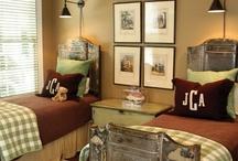Boys Bedroom Ideas / by Rebecca Platz