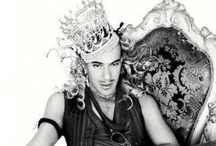 J O H N-G A L L I A N O / ONE OF MY FAVOURITE DESIGNERS.John Charles Galliano CBE, RDI is a Gibraltar-born British fashion designer who was head designer of the French fashion companies John Galliano S.A., Givenchy, and Christian Dior.   Born: November 28, 1960 (age 51), Gibraltar Education: Central Saint Martins College of Art and Design Movies: The September Issue / by Gerrylocity