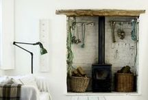 Farmhouse living / We live in a beautiful old farmhouse (1835) and this pinboard is my inspiration for styling my house.
