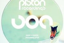 Piston Recordings Videos / #quality #deephouse & #techhouse from hot #Portugal ;) / by Bonzai Progressive-Electronic Music Record Label
