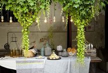 Event decor + styling / Table settings -   Event Themes - tips and tricks  / by Alysha ...