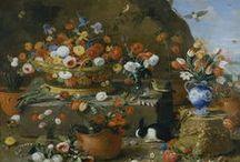 In bloom / Paintings, engravings and photographs of flowers