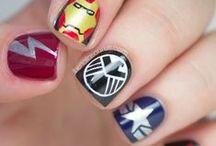 Nerdy Nail Art / Nerdy Nail Art, Geek, Nerd, Comic Con, Superhero, Marvel, DC, BBC